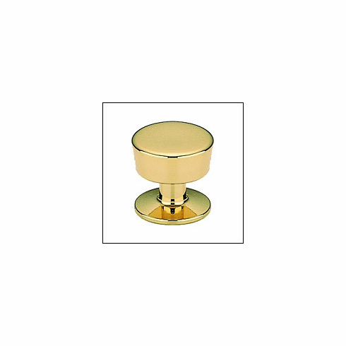 Omnia 9151-US3 Knob US3-Polished and Lacquered Brass