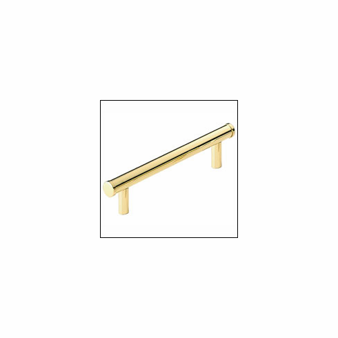 Omnia 9464-US3 Pull US3-Polished and Lacquered Brass