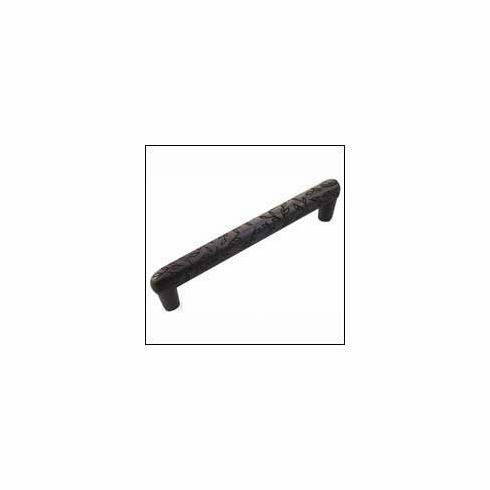 Oil Rubbed Bronze MNG Hardware 15513 4-Inch C//C 4 1//4-Inch Overall Vine Tube Pull