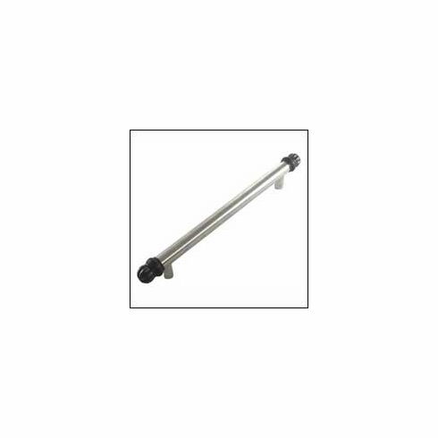 MNG Hardware Designer Hardware 20313-6-DR ; 20313 6 DR Braid Tube Handle Projection 2 1/2 inch, 10 inch x 1 1/2 inch, 6 inch C.C. Stainless & Oil Rub Bronze