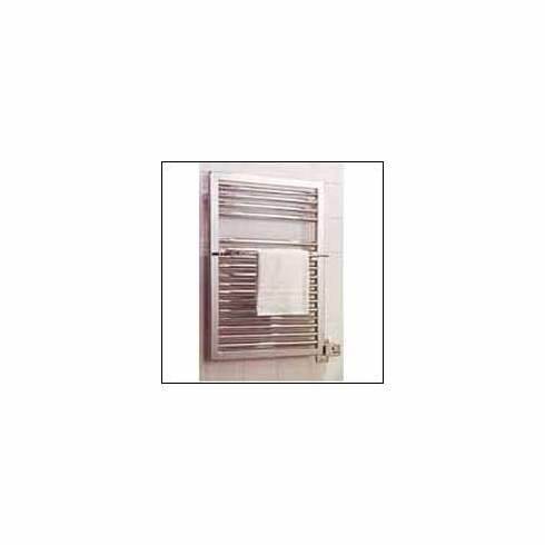 Myson EMR-750 (Classicn) Lindi Towel Warmer OL Height (in) 29-7/8, OL Width (in) 19-3/4, OL Width incl.Electrical Box (in) 22-3/8, Width C/C Vertical Tubes (in) 18-1/2, Bottom Rail to Center of Flange (in) 25-1/2, Center Rt.Rail to Wire Conn. (in) 2, OL Projection (in) 3-5/8, Tube Diameter (in) 1-1/4 /1