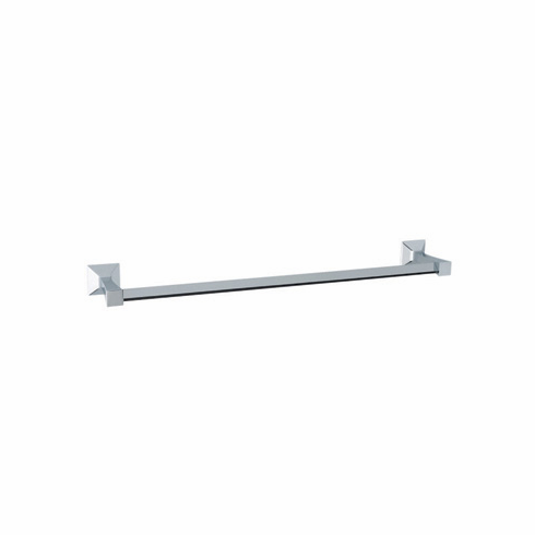 ROHL VIN1/24PN Rohl Vincent Bath 24^ Single Towel Bar In Polished Nickel