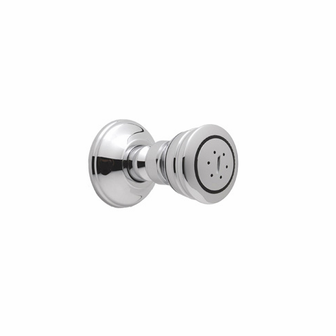 ROHL 1095/8PN Rohl And Michael Berman Body Spray With Swivel Connection 90% Shut-Off Position And Flow Restrictor 1/2^F In Polished Nickel