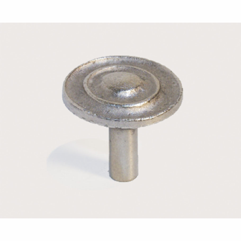 Emenee mk1194 Double Concave Dome Cabinet Knob Length 1-1/8 inch