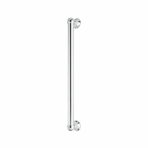 ROHL 1251APC Rohl All Brass 24^ Decorative Grab Bar In Polished Chrome