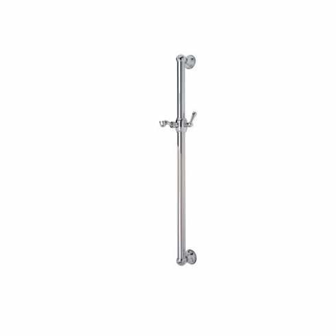 ROHL 1270IB **Kit** Rohl All Brass 36^ Decorative Grab Bar With Lever Handle Slider In Inca Brass