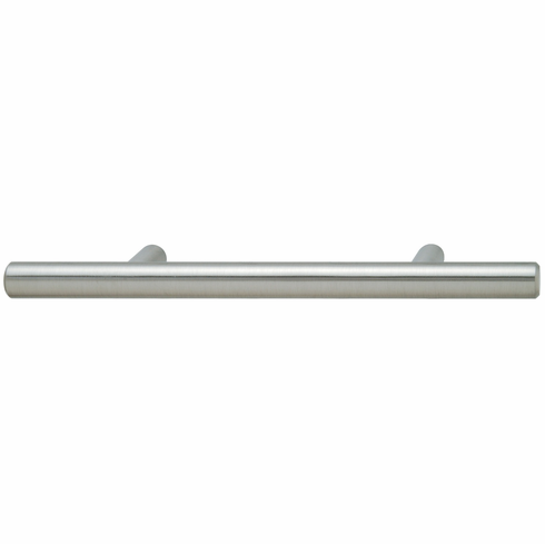 Hafele 101.20.751 Handle, steel, stainless steel, 100ST43, M4, center to center 96mm (each)