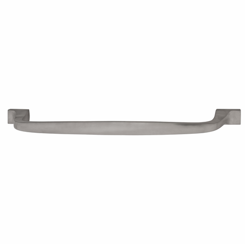 "Hafele 100.61.656 Appliance Handle, Beaulieu, brass, brushed nickel, 102BR01, M6, 12"" center to center, with 40mm screws (each)"