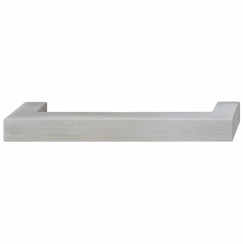 Hafele 110.22.001 Handle, zinc, stainless steel, 100ZN08, M4, center to center 128mm (each)