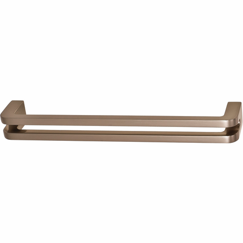 Hafele 110.34.606 Handle, Studio, H1310, zinc, brushed nickel, 102ZN24, M4, center to center 160mm (each)