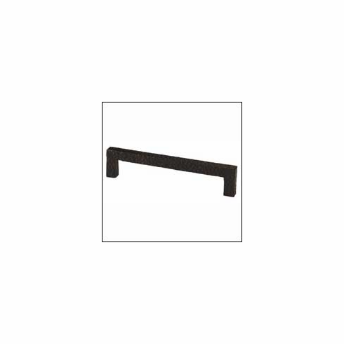 Waterwood Modern Rustic Collection 177-B ; 177 B Square Pull Dimension 5 inch Projection 1 1/4 inch Black