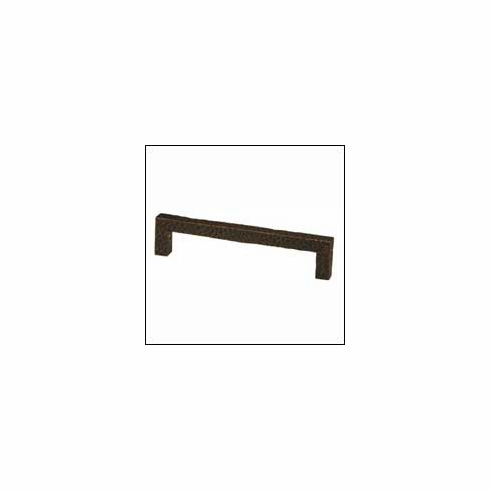 Waterwood Modern Rustic Collection 177-ORB ; 177 ORB Square Pull Dimension 5 inch Projection 1 1/4 inch Oil Rubbed Bronze
