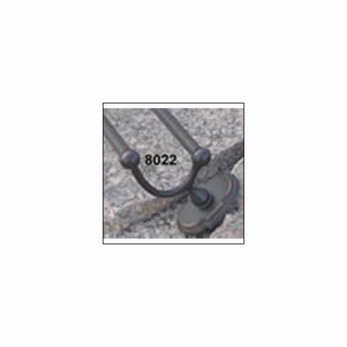 """8422 24"""" Double Towel Bar  - Oil Rubbed Bronze"""
