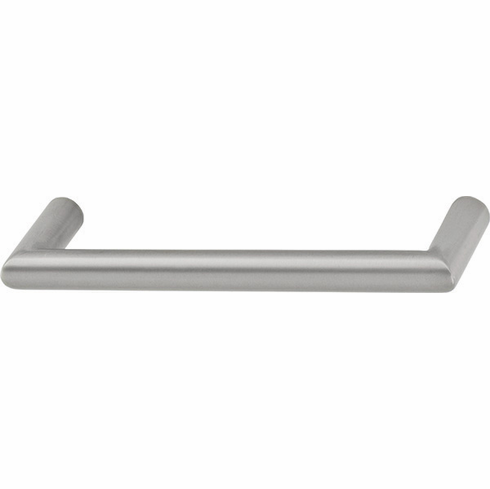 Hafele 110.52.435 Handle, stainless steel, antimicrobial, 100SS38, M4, center to center 128mm (each)