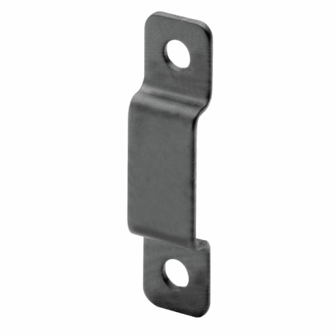 Hafele 239.61.337 Strike Plate, loop, steel, black, 32mm x 11mm (each)