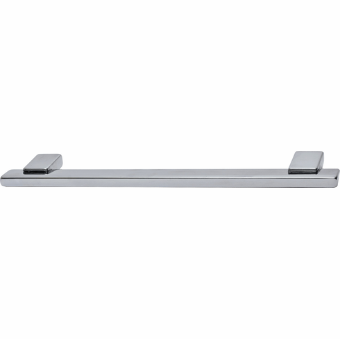 Hafele 111.24.605 Handle, Lago di Como, zinc, satin nickel, 102ZN22, M4, center to center 128mm (each)