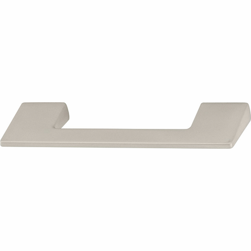 Hafele 111.93.684 Handle, Fineline, zinc, stainless steel, 100ZN38, M4, center to center 96mm (each)