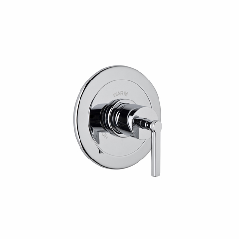 ROHL A6200LMSTN **Kit** Rohl Lombardia And Avanti Bath Trim Kit For Pressure Balance With Integrated Volume Control In Satin Nickel With Metal Lever And Without Diverter