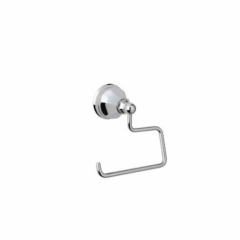 ROHL A6892APC Rohl Palladian Wall Mounted Hook Or Open Single Toilet Paper Tp Holder In Polished Chrome