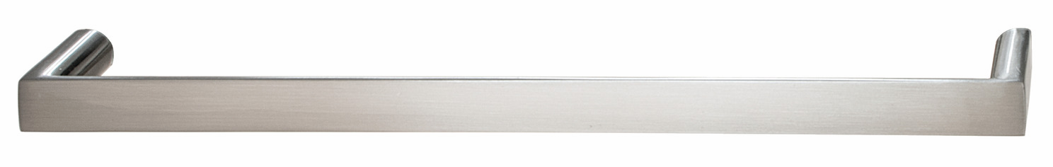 Hafele 109.86.027 Handle, Soho, zinc, stainless steel, 100ZN49, M4, center to center 192mm (each)