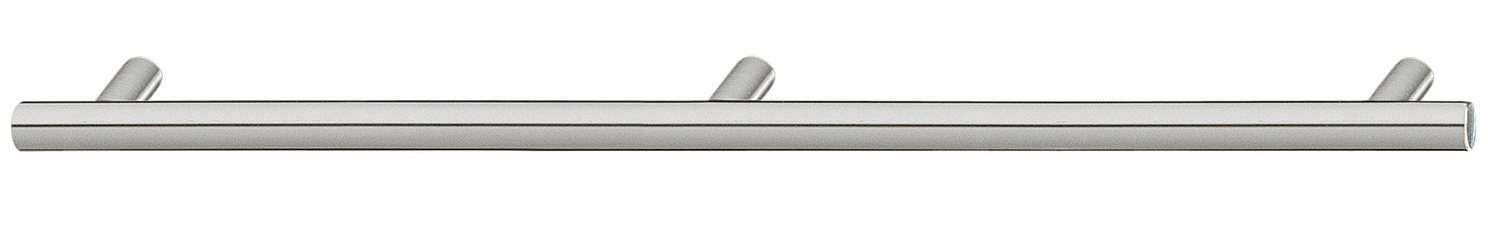 Hafele 117.66.106 Handle, stainless steel matt, 12mm 1500 x 35mm, M4, CTC 1460mm (each)