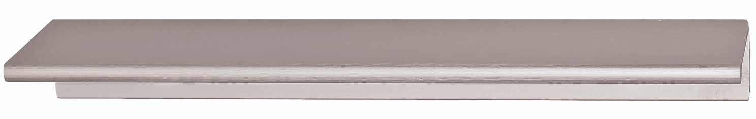 "Hafele 124.02.444 Handle, Tab, aluminum, satin aluminum, 137AL53, center to center 4"" (each)"