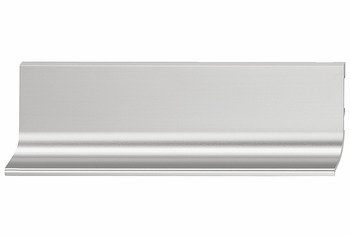Hafele 126.37.001 L-Profile, Passages Collection, aluminum, stainless steel, 100AL37, 2500mm (each)