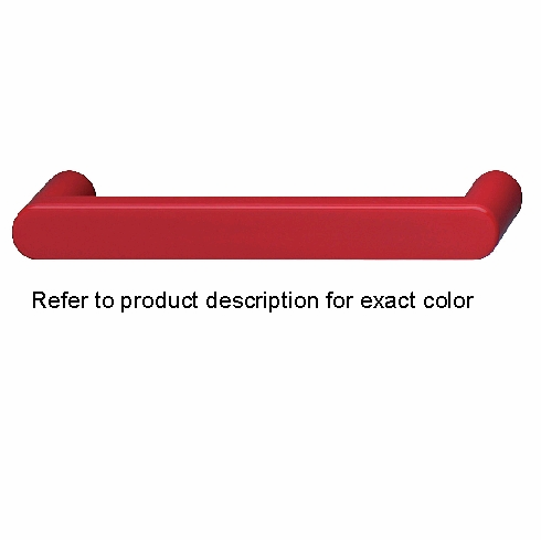 Hafele 114.27.333 Handle, polyamide, red, 033PA25, center to center 128mm (each)