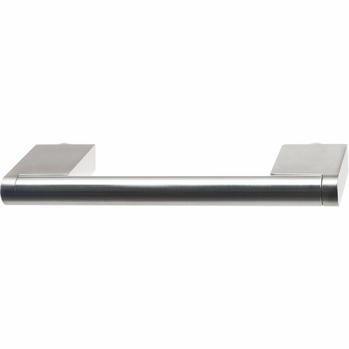 Hafele 115.70.001 Handle, stainless steel / zinc, stainless steel, 100SS50, M4, center to center 96mm (each)