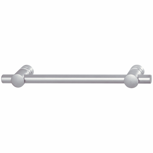 Hafele 115.84.002 Handle, Technik, stainless steel, matt, M4, center to center 128mm (each)