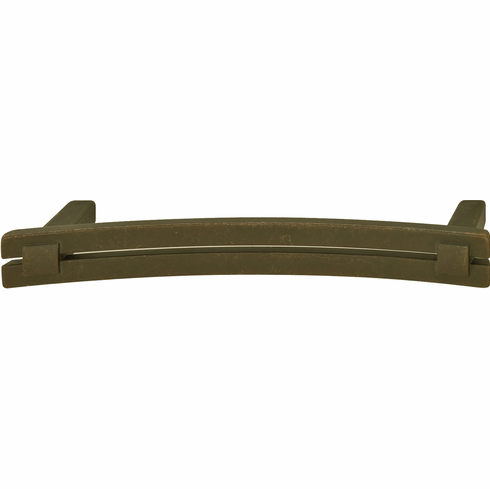 Hafele 120.69.304 Handle, Eastview, zinc, oil-rubbed bronze, 105ZN35, M4, center to center 128mm (each)