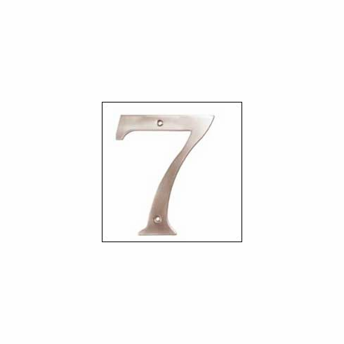 Deltana RN4-7 House Number 7 4 inch