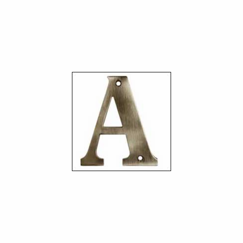 Deltana RL4A Residential Letter A 4 inch