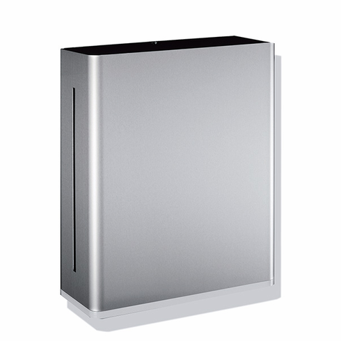 Hafele 988.90.999 Paper Towel Dispenser with polyamide white insert, stainless steel brushed (each)