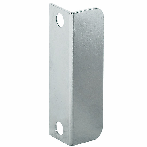 Hafele 239.41.013 Strike Plate, angled, steel, nickel-plated, 40mm x 12mm (each)