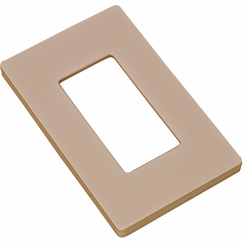 Hafele 820.66.653 Wall Plate for Diva Dimmer Switch, plastic, ivory, 120x70x10mm