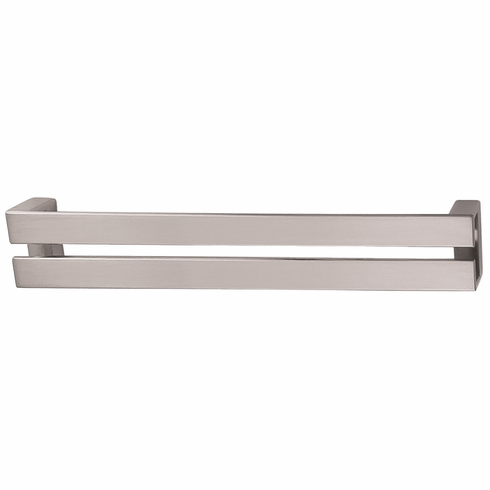 Hafele 107.96.634 Handle, zinc, brushed nickel, 102ZN16, M4, center to center 192mm (each)