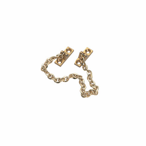 Hafele 372.35.813 Decorative Safety Chain, polished brass, 200mm (each)