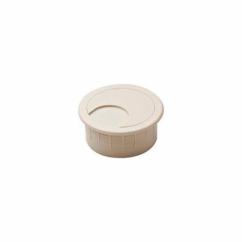 Hafele 429.93.117 Cable Grommet, two-piece, plastic, brown, 47mm (each)