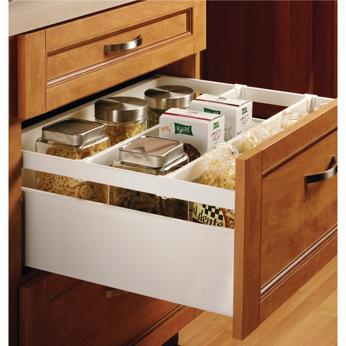 Hafele 558.23.847 Grass Zargen 6236 Drawer System, steel, white, 149mm x 470mm (5 sets/pkg***)