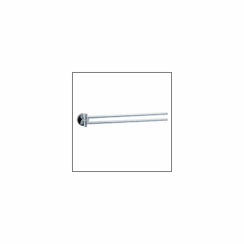 Smedbo NK326 Studio Swing Arm Rail, Polished Chrome