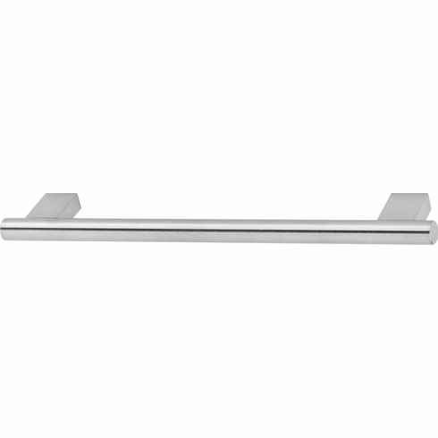 Hafele 106.74.613 Handle, stainless steel, 100SS69, M4, center to center 210mm, 240 x 35mm (each)