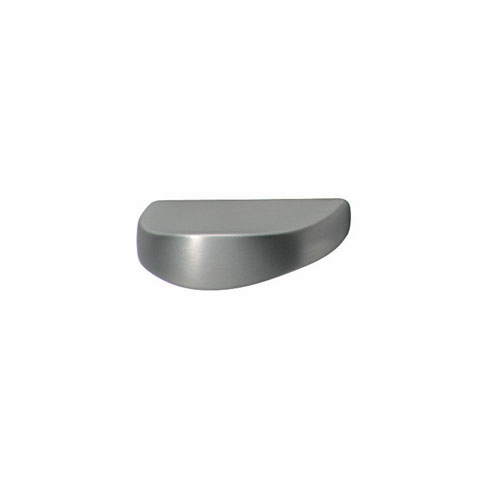 Hafele 105.43.400 Handle, Lago di Como, zinc, stainless steel look, 100ZN22, M4, 40 x 26mm, center to center 32mm (each)