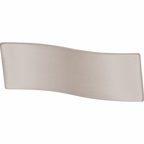 Hafele 102.02.600 Handle, Lago di Como, zinc, stainless steel look, 100ZN22, M4, center to center 16mm (each)