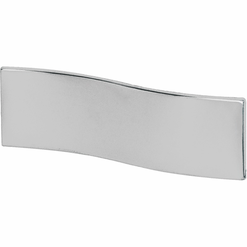 Hafele 102.02.200 Handle, Lago di Como, zinc, polished chrome, 101ZN22, M4, center to center 16mm (each)