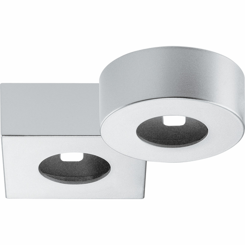 Hafele 833.72.143 LOOX, LED, 12V, 2040, surface mount ring, round, plastic, silver color, 40mm