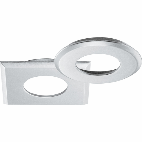 Hafele 833.72.145 LOOX, LED, 12V, 2040, recessed mount ring, round, plastic, silver color, 40mm