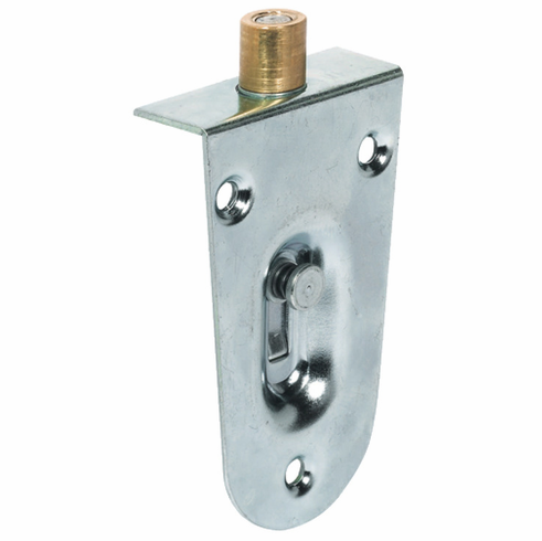 Hafele 405.20.910 Guide Bolt, With brass roller, steel, nickel plated (each)