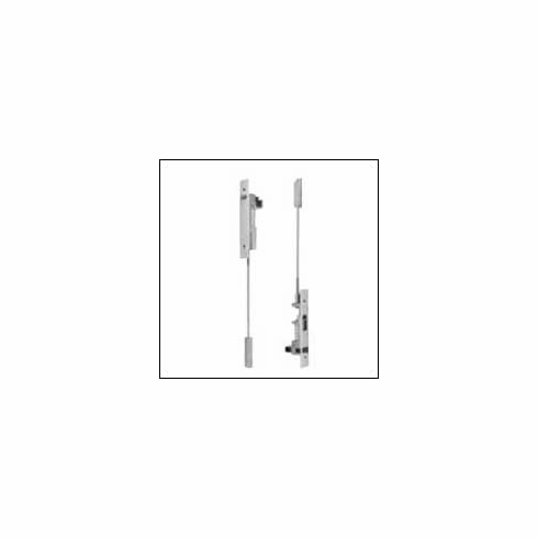 FB51 Top and Bottom Bolt Dimensions: Body Size: 1 inch Wide x 6-3/4 inch Long x 2 inch Deep, Guide Size: 1 inch Wide x 1-27/32 inch Long x 11/16 inch High x 3/32 inch Thick, Strike Size: 15/16 inch Wide x 2-1/4 inch Long x 1/16 inch Thick, Rub Plate Size: 1-1/4 inch Wide x 1-11/16 inch Long x 3/64 inch Thick, Auxiliary Fire Latch Size: 1 inch Wide x 1-3?4 inch Long x 3-1/4 inch Deep, Filler Plate Size: 1 inch Wide x 6-3/4 inch Long x 3/32 inch Thick