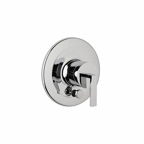 ROHL WA200L-APC **Kit** Rohl Wave Trim Kit To Pressure Balance In Polished Chrome Metal With Lever Handle Diverter